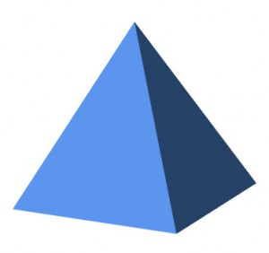 Pyramide in PPT 2010 8